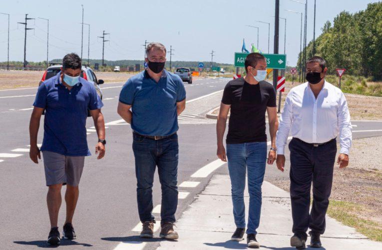 Marcelo Sosa participó de la apertura de 33,5 km de la nueva Autovía 11