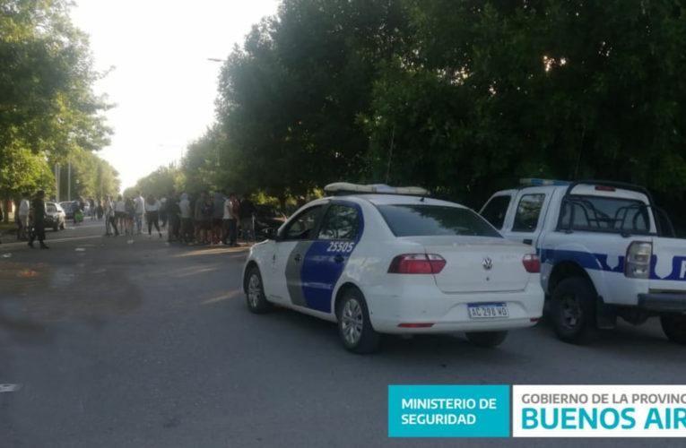 CNEL VIDAL: Cortaron la calle y organizaron una fiesta de más 150 personas