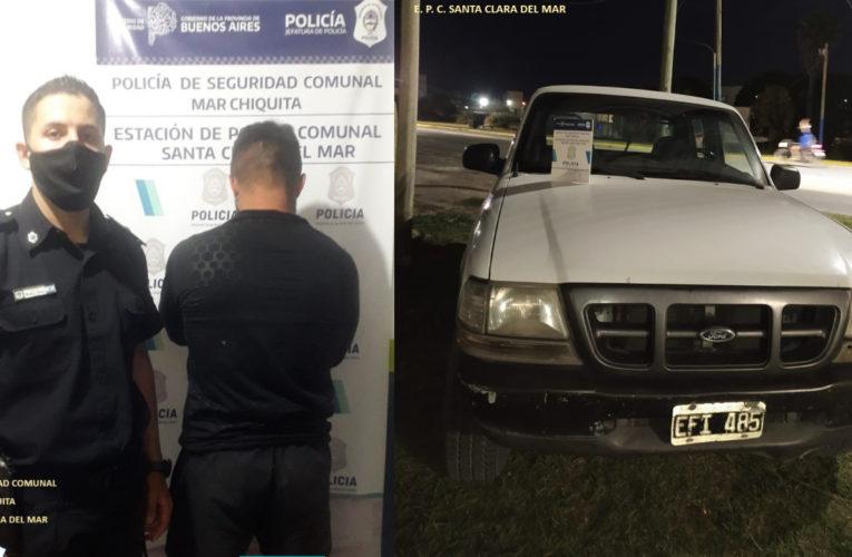 STA CLARA: Circulaba en una camioneta con pedido de captura por hurto en Mendoza