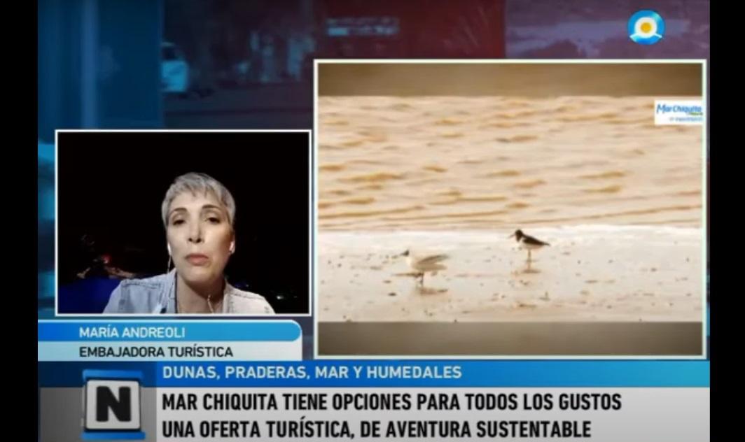Una ex funcionaria de Cambiemos se presenta en TV como ¿embajadora turística? de Mar Chiquita