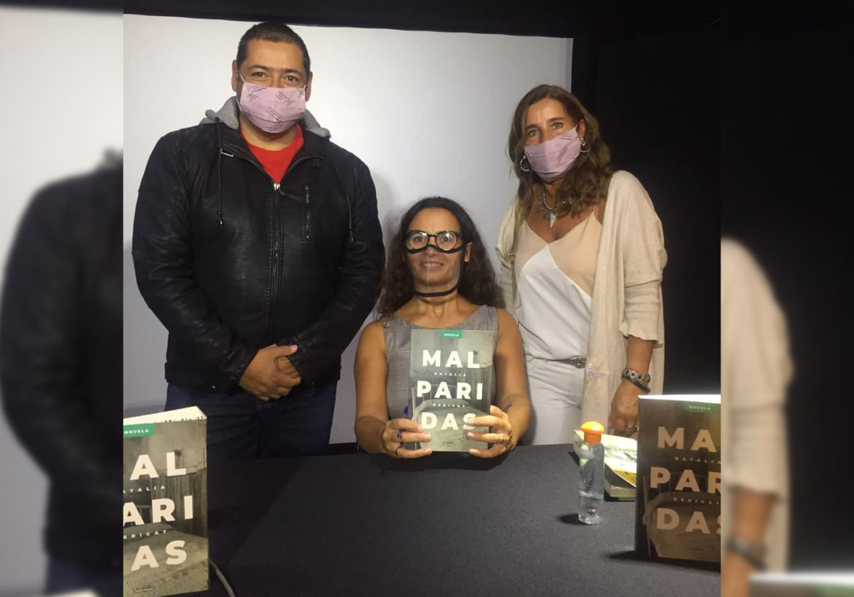 MALPARIDAS: El libro de la escritora Marchiquitense Natalia Bericat que se presentó en el Museo Evita