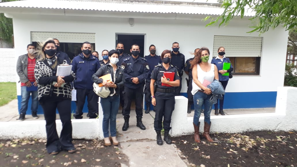 VIVORATÁ: Se realizó una capacitación a policías sobre temática de Violencia de Género