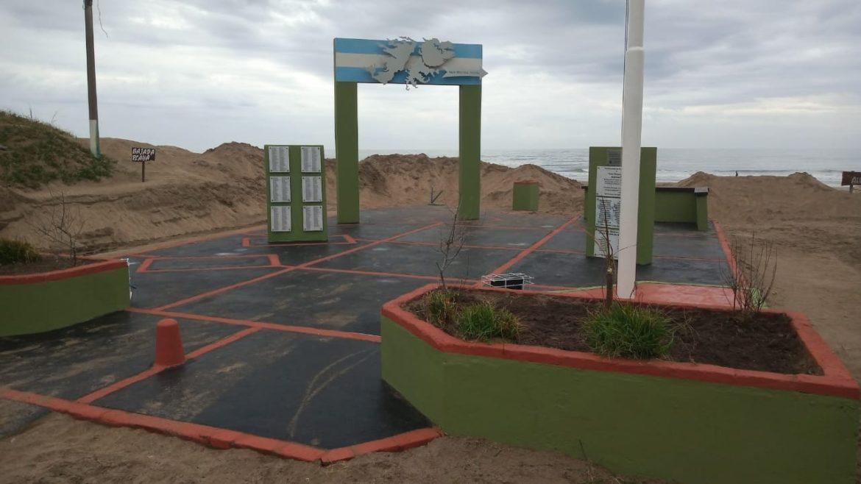 El municipio puso en valor el monumento a los caídos en Malvinas, en vísperas de un nuevo 2 de abril