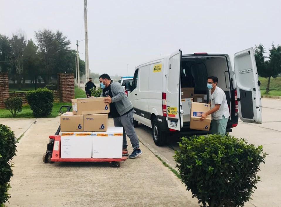 Salud: arribaron a Mar Chiquita 1350 dosis de la vacuna Sinopharm