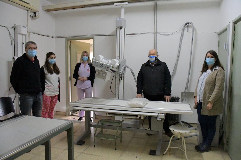 Nuevo equipo de rayos X en el hospital municipal Eustaquio Aristizabal