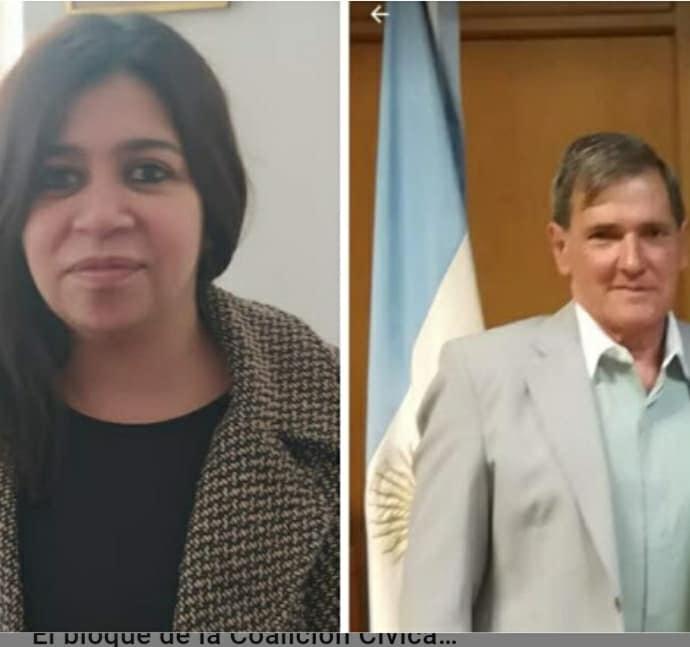 «JUNTOS» POR SEPARADO: Valeria Velázquez y Eduardo Orlandini presentaron lista e irán a internas