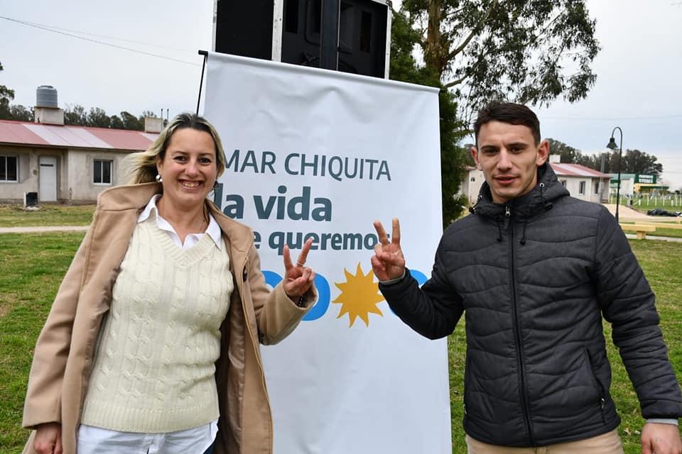 Candidatos del Frente de Todos charlaron con vecinos y vecinas en Vivoratá