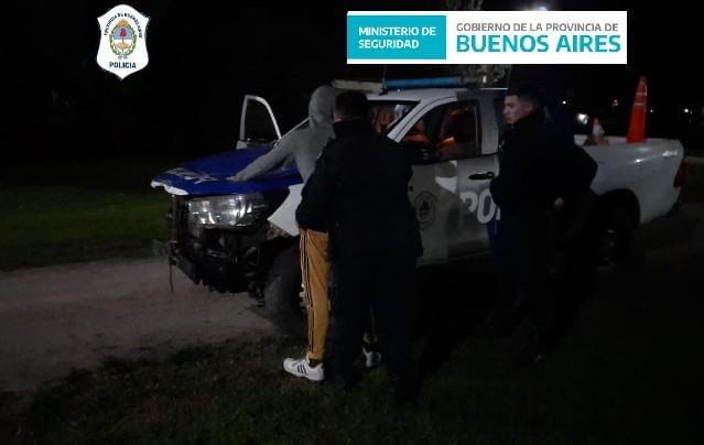 ATLANTIDA: Robó un neumático de un automóvil y fue detenido mientras intentaba darse a la fuga