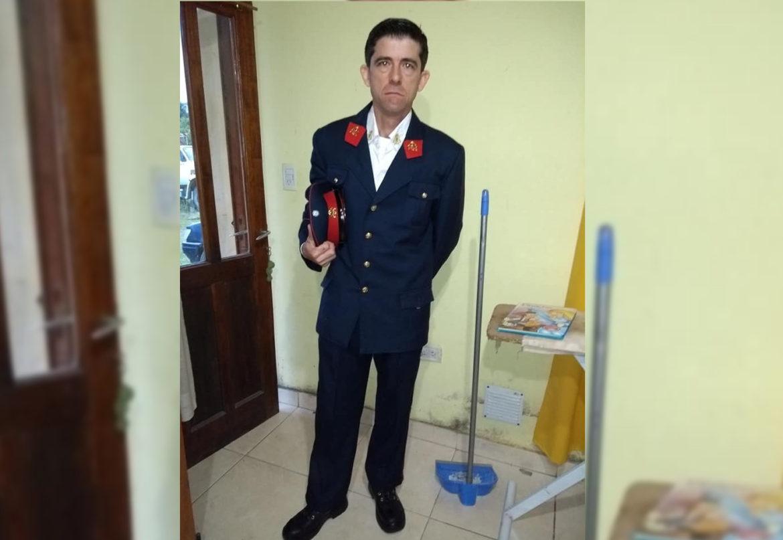 Paulo Colman se convirtió en el nuevo jefe de la Central de Bomberos 089 de Coronel Vidal