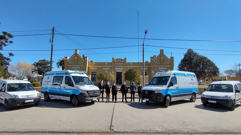 Mar Chiquita: se adquirieron dos nuevas ambulancias UTIM