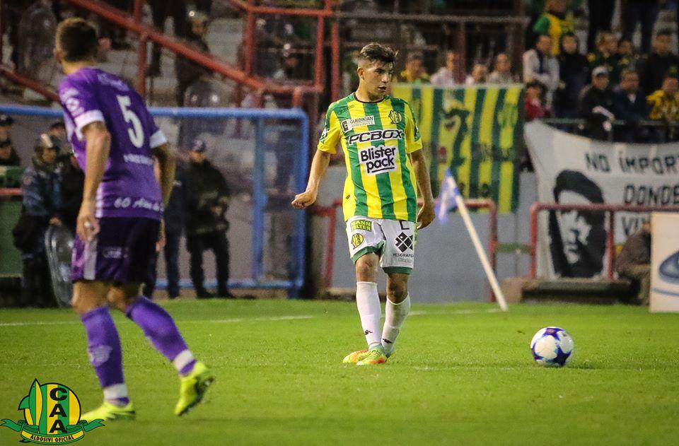 El piranense Manu Iñiguez estará frente a Almagro en el partido por el ascenso a Primera División