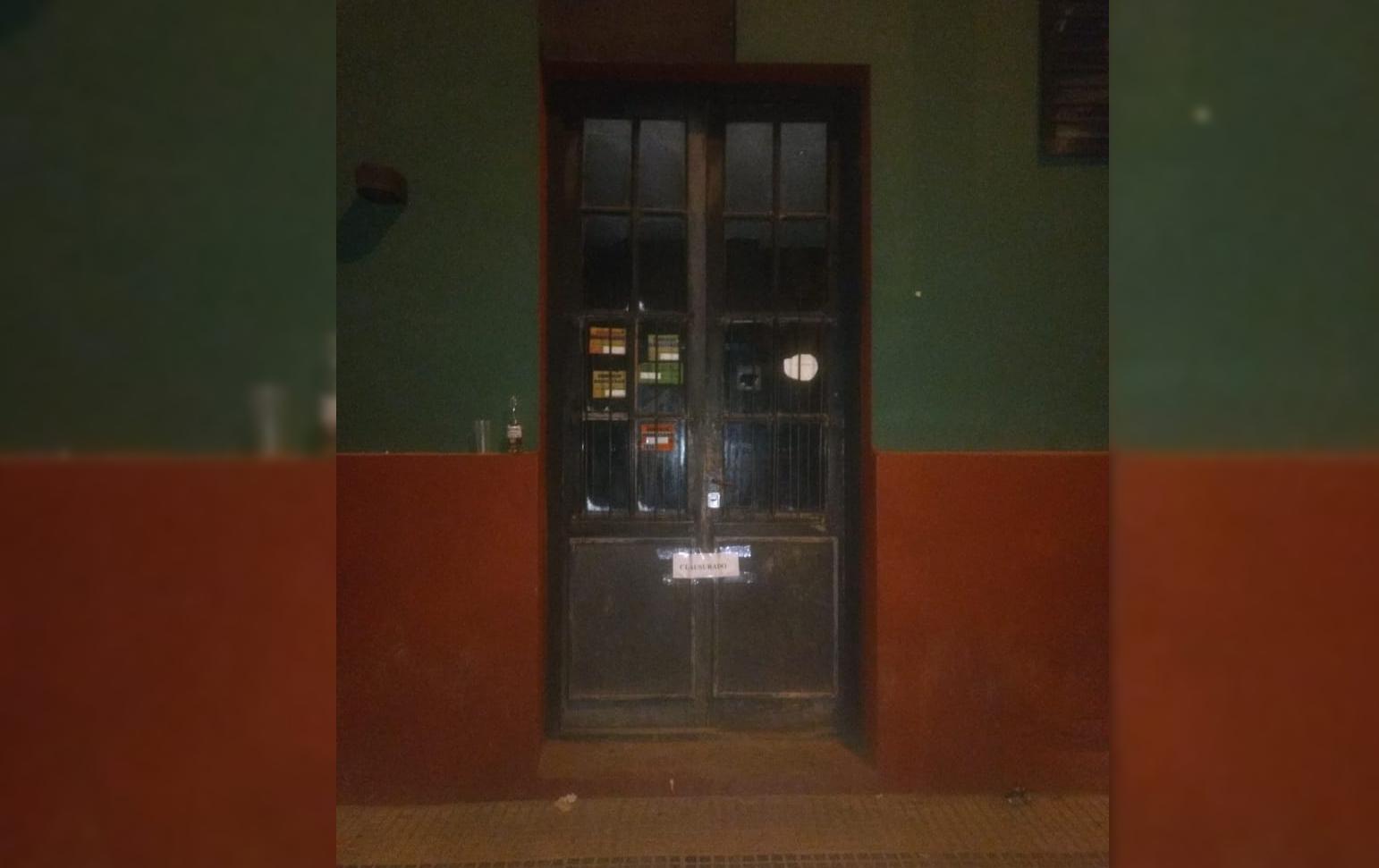 Por encontrar menores dentro del local, clausuraron el boliche bailable de Coronel Vidal