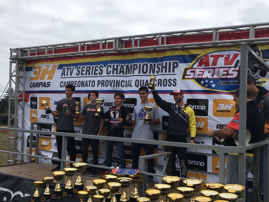 Este Chiavon es imparable: Fausto ganó de nuevo en el ATV SERIES en cuatriciclos