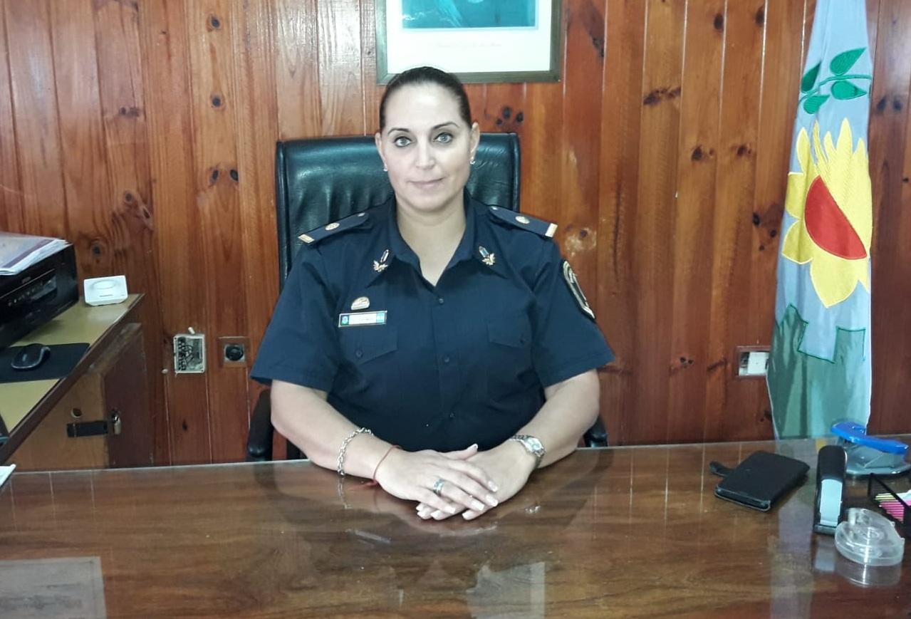 La comisaría 1ra de Coronel Vidal tiene nueva jefa