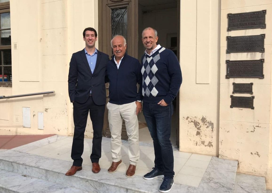 Finalmente presentaron al Dr. Santiago Beroldi como nuevo director del Hospital de Coronel Vidal