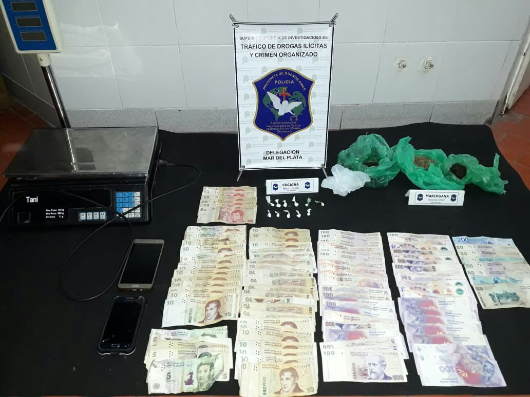 CNEL VIDAL: Allanamiento por drogas deja como resultado un sujeto detenido