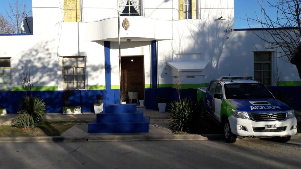 Efectivos de la Sub Estación de Policía de General Piran, pusieron en valor la dependencia