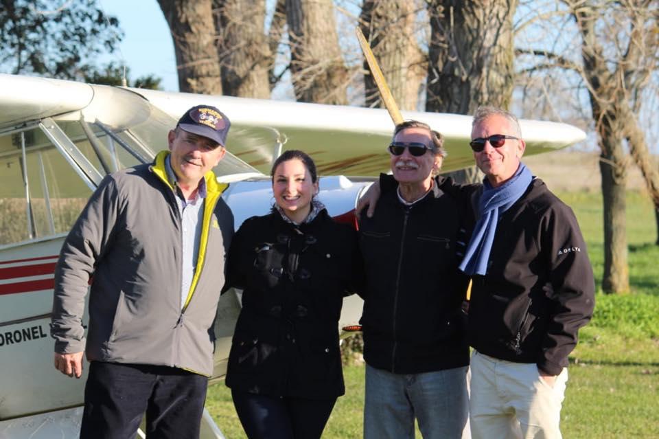 Se recibieron nuevos pilotos en el aeroclub de Coronel Vidal