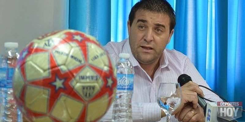 Acompañado al futbol del interior, Pablo Toviggino estará el próximo jueves en Olavarría