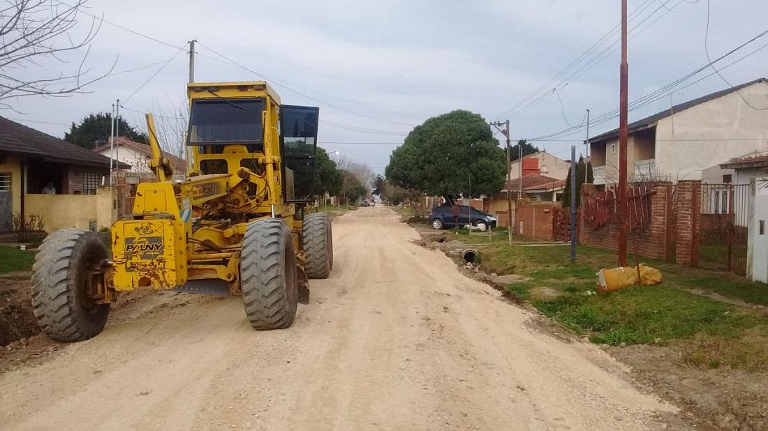 SANTA CLARA: finalizó la obra de desagüe pluvial de la calle Necochea