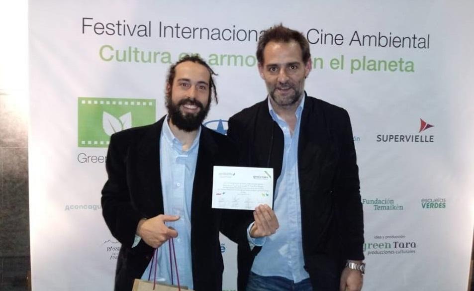 """Alumnos de la Escuela 12 de Balneario Parque Mar Chiquita, ganaron el """"Semillerito 2018"""" del Green Film Fest con """"El Tala"""""""