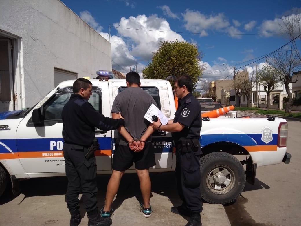 Encontraron una casilla rodante robada en Mar del Plata en Cnel Vidal. Hay un detenido