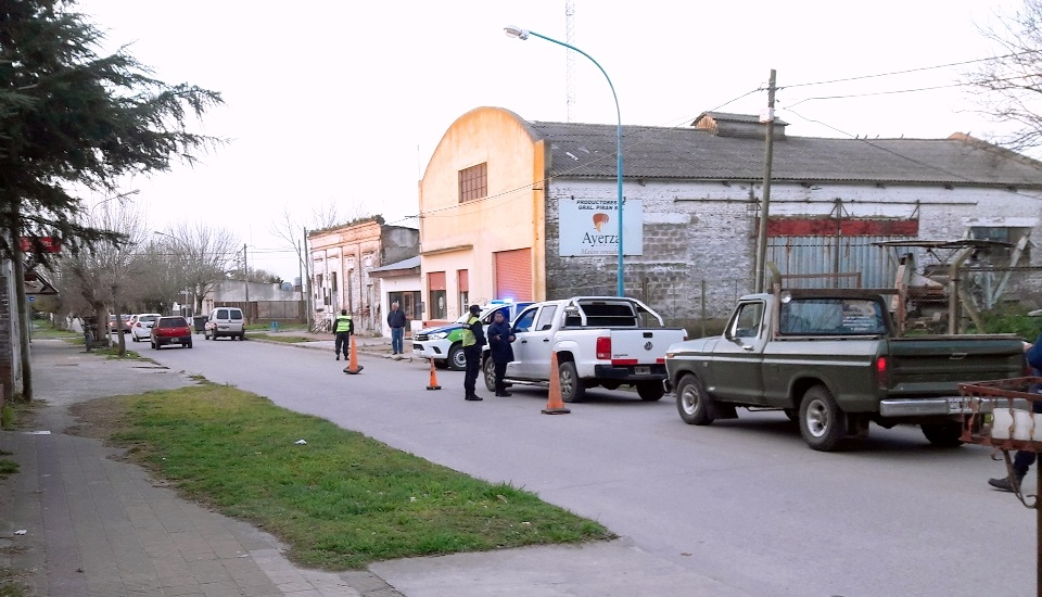 GRAL PIRAN: Secuestran 3 motos y un auto en operativo conjunto