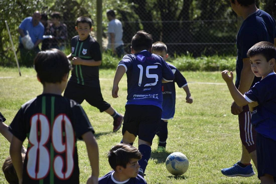 Más de 200 chicos participaron del encuentro de Fútbol Formativo en General Pirán