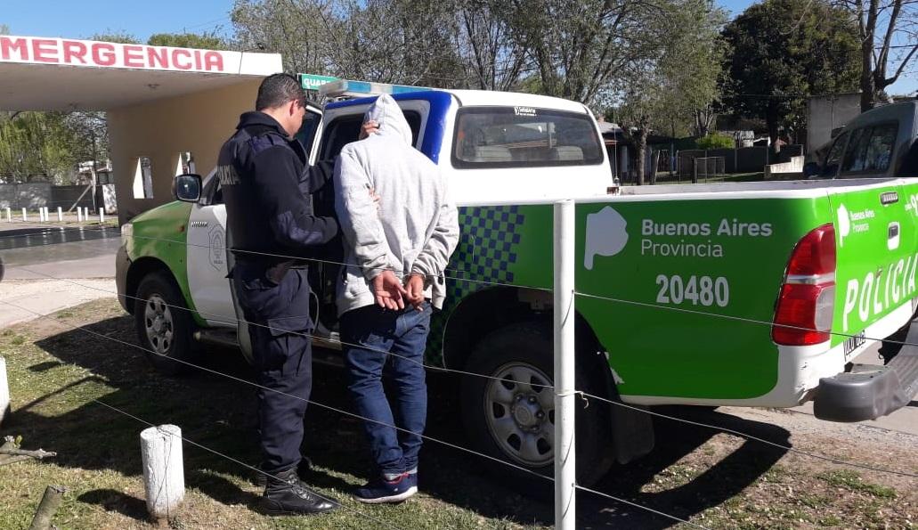 CNEL VIDAL: Detuvieron a un sujeto de 32 años que era buscado por robo