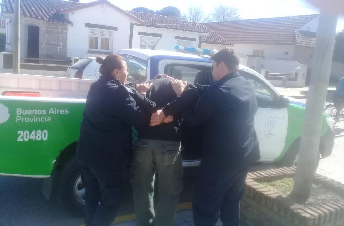 CNEL VIDAL: Detienen a un hombre por lesiones