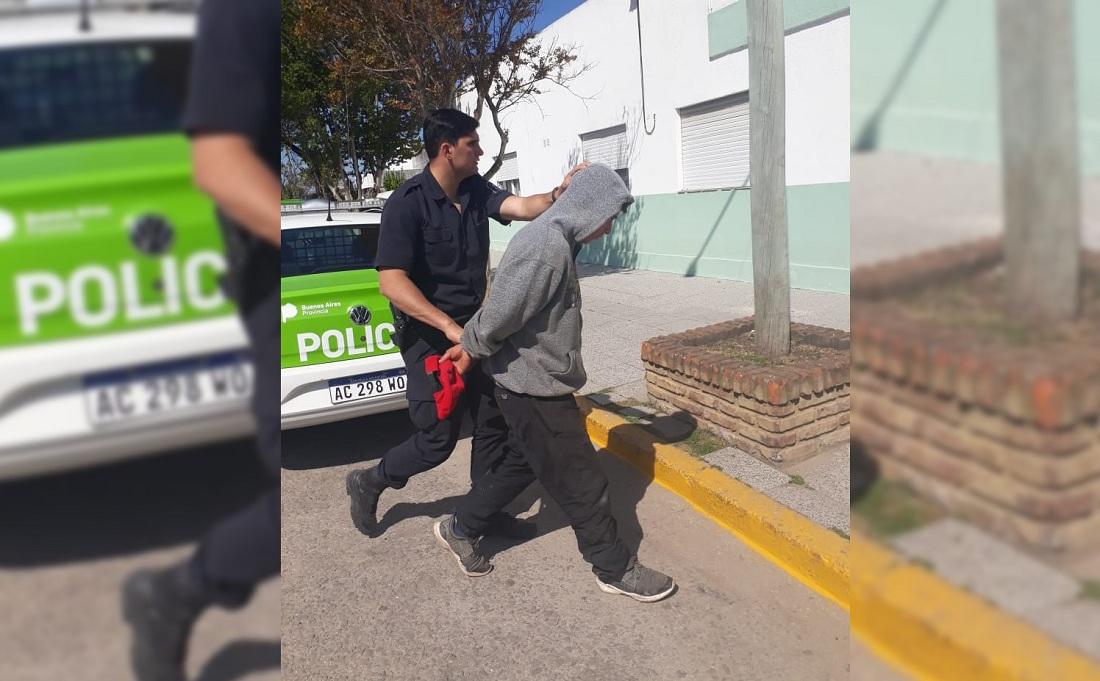 CNEL VIDAL: Detienen a un joven de 26 años que golpeo ferozmente a otro de 54