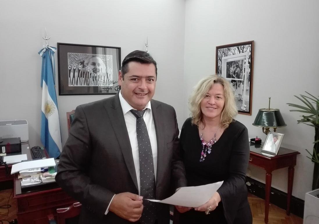 MARCELO SOSA reclamó en el Banco Provincia los cajeros para Mar de Cobo y Mar Chiquita, y la renovación del de Vivoratá