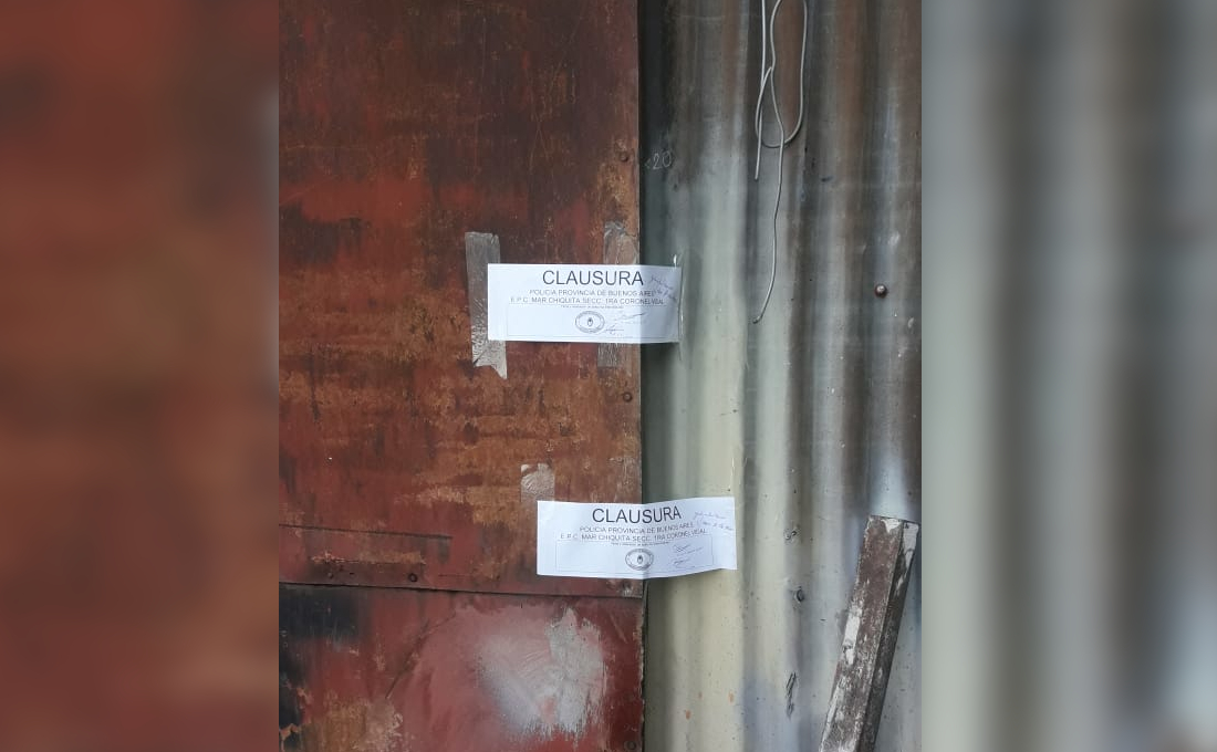 CNEL VIDAL: Clausuraron dos talleres por falta de habilitación y libro de registro