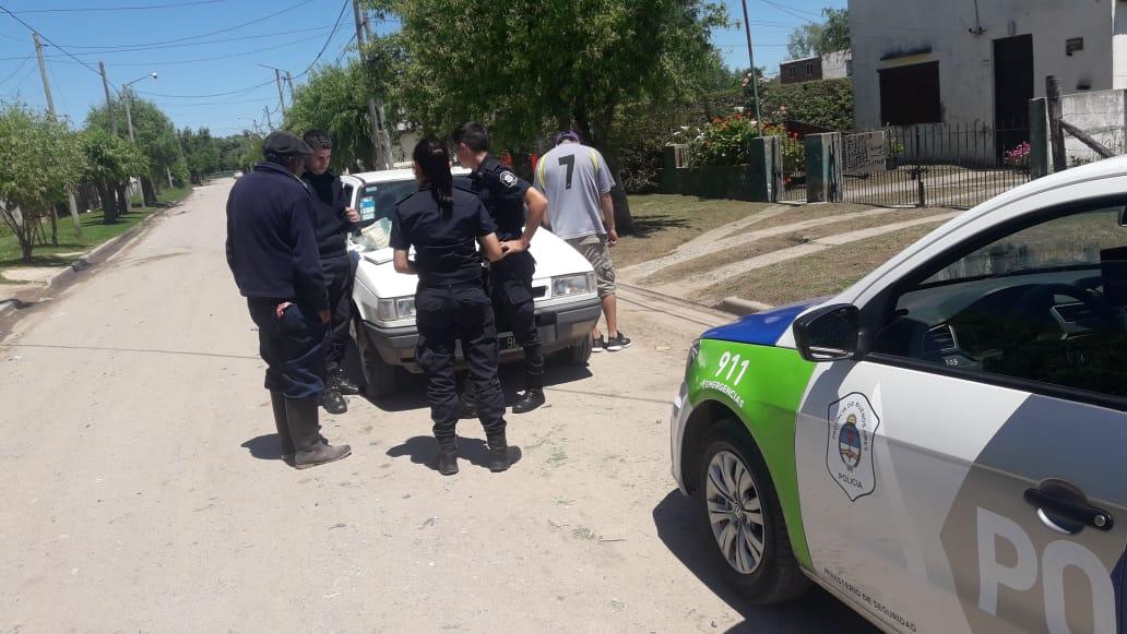 CNEL VIDAL: Le secuestraron cocaína a un sujeto de 28 años