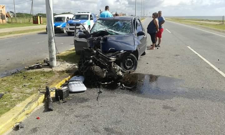 RUTA 11: Una mujer herida tras accidentarse en el km 501