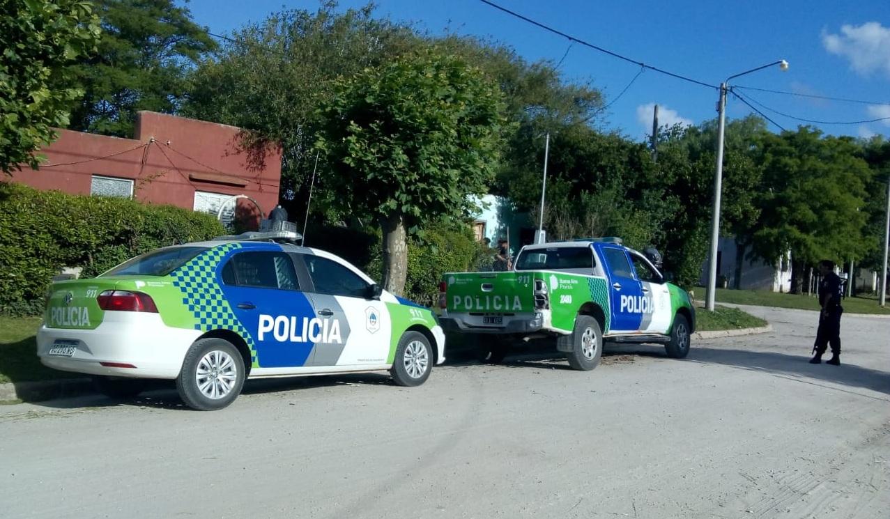 Allanamiento y detención en Coronel Vidal