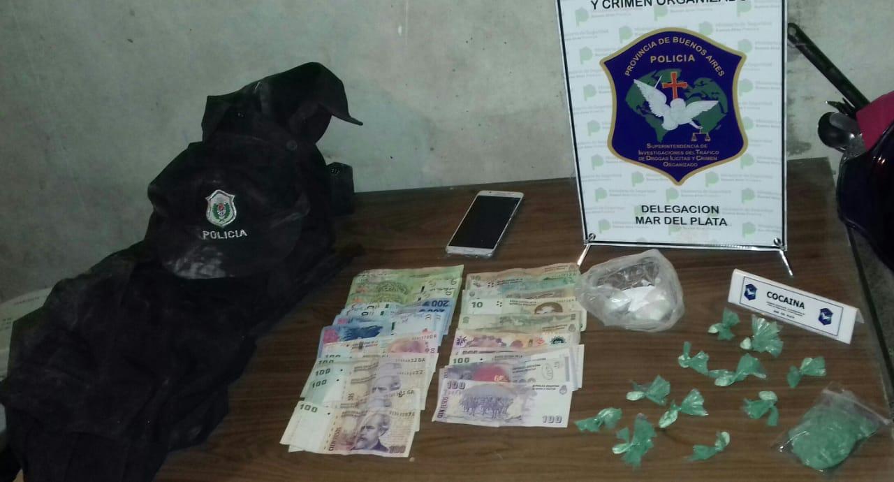 Tras una investigación de la DDI, allanaron una vivienda en Santa Elena donde se comercializaban drogas