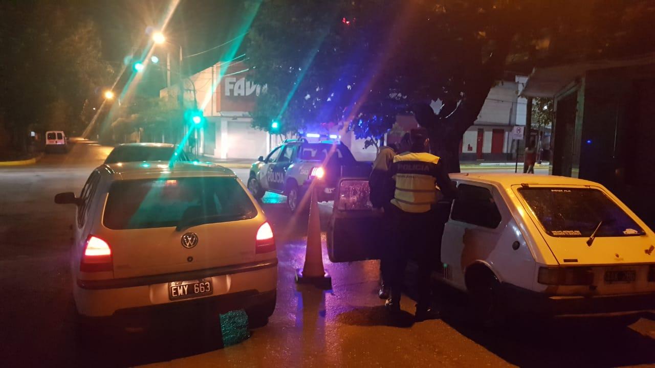 OPERATIVO NOCTURNIDAD: Dos secuestros por alcoholemia positiva