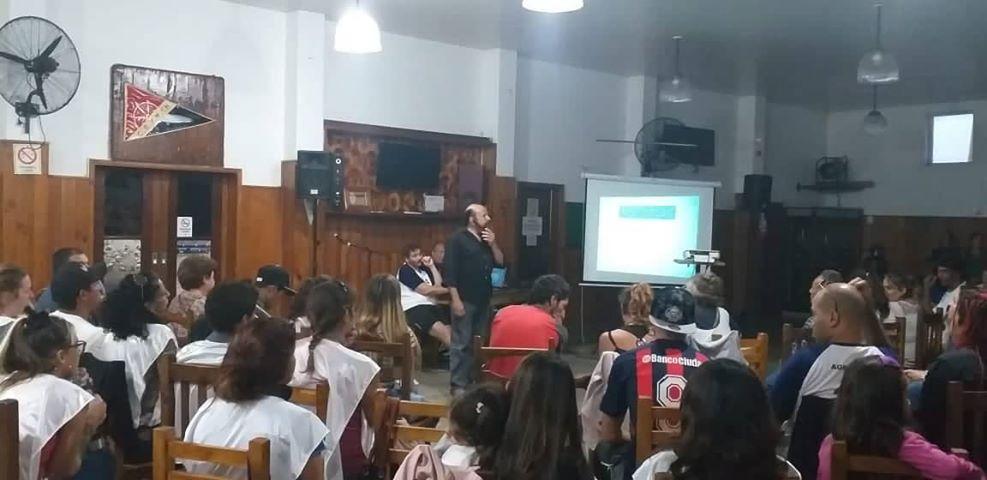 La Agrupación Laguna organizó un plenario e impulsó a Fernando Córdoba como pre candidato a intendente