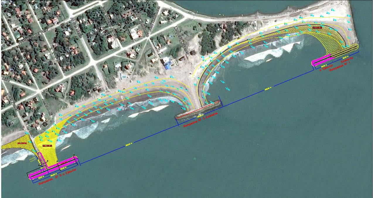 El municipio anunció una obra de 140 millones en defensa costera