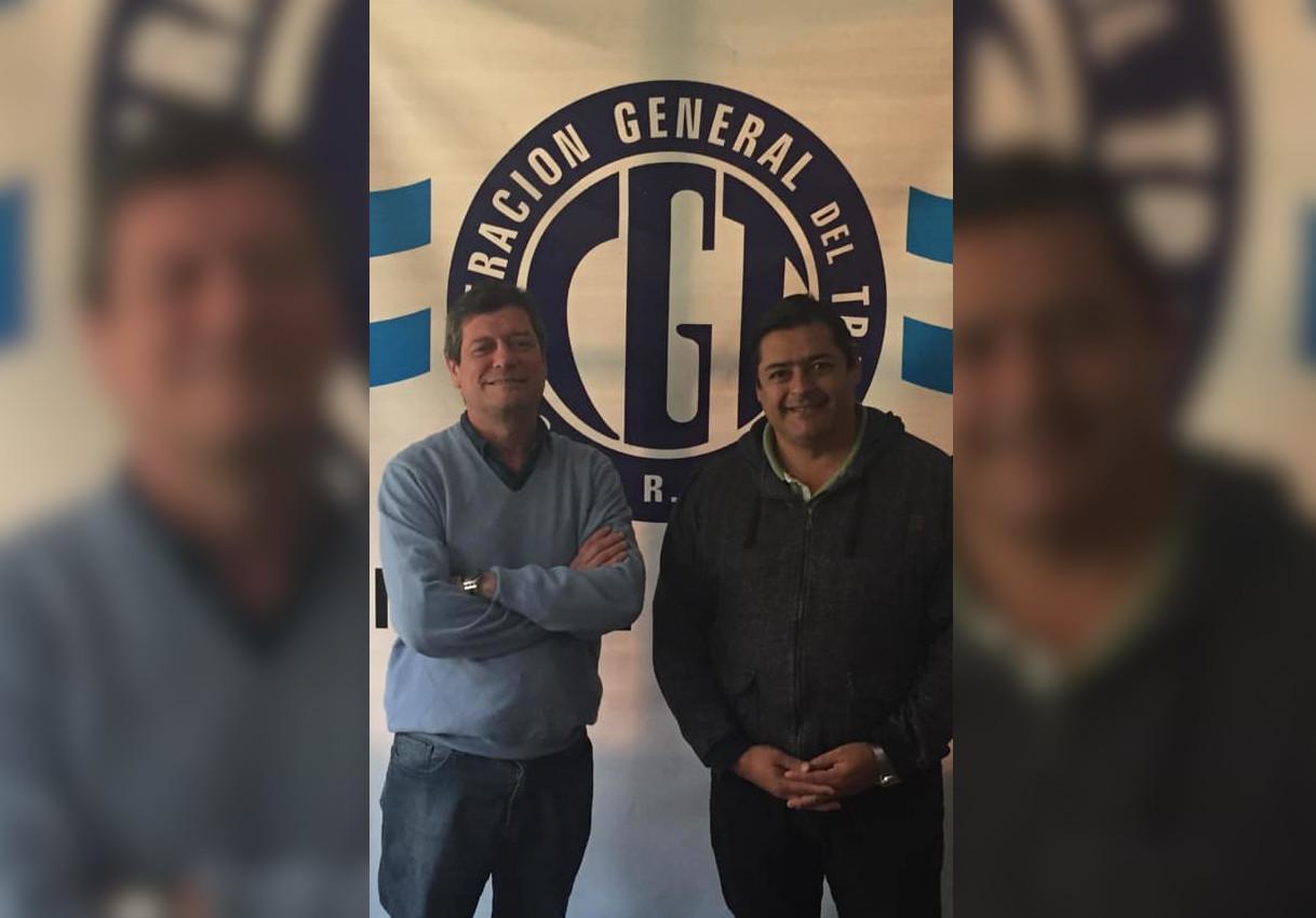Marcelo Sosa cosechó un fuerte respaldo del titular de la CGT Mar del Plata