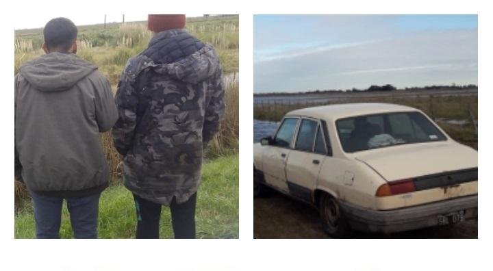 El CPR secuestró un auto y puso a disposición de la justicia a dos individuos que ingresaban a campos sin tener permiso