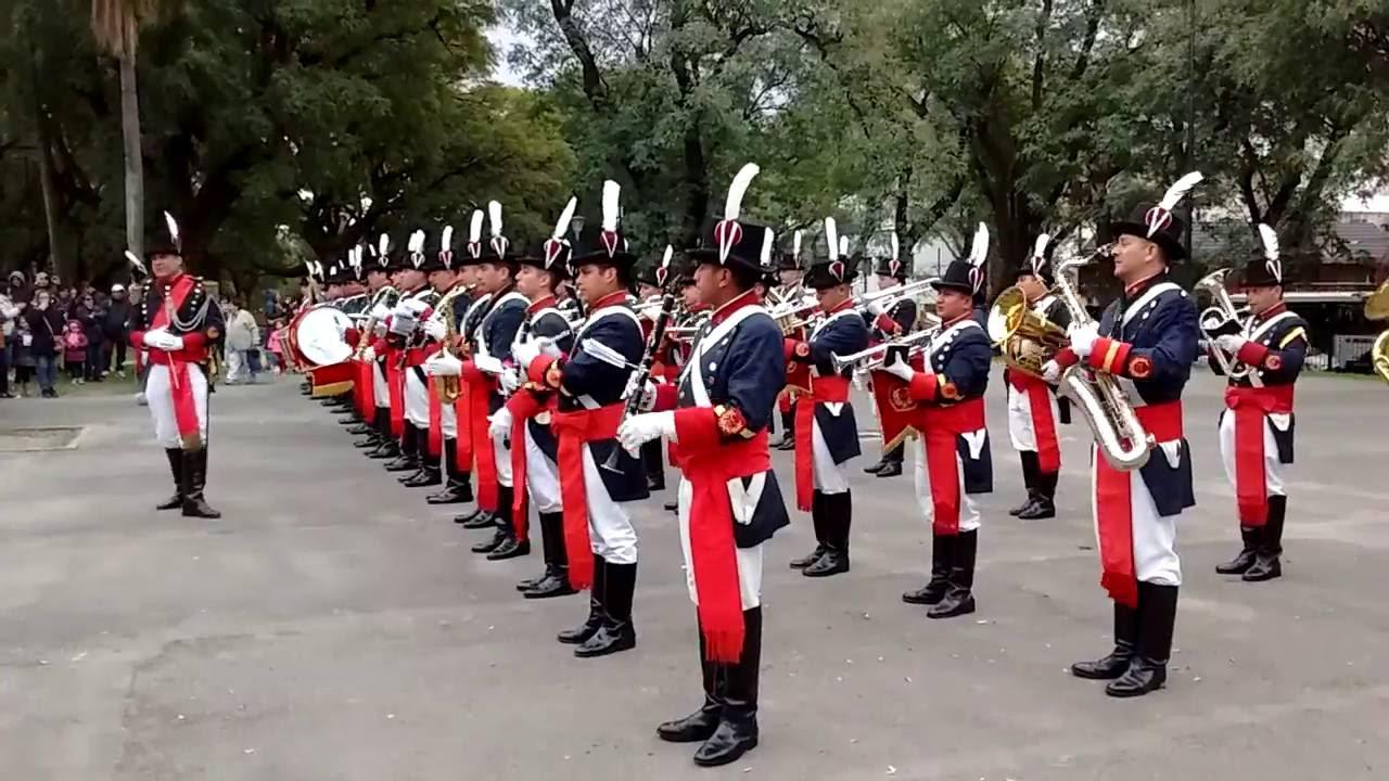 La banda del Regimiento de Patricios gano el Mundial de Bandas en Alemania