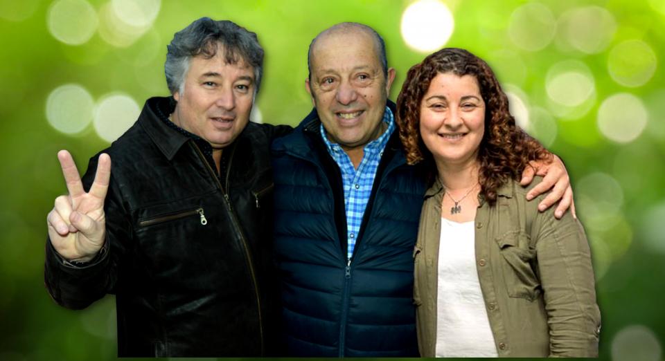 "Jorge ""Pitingo"" Paredi ya oficializó la lista: Minnucci primer concejal y Marcela Lallera segunda"