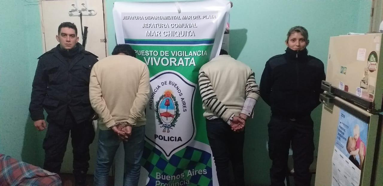 Ebrios y agresivos, amenazaron a la policía con una tijera de tuzar a la salida del baile de Vivoratá