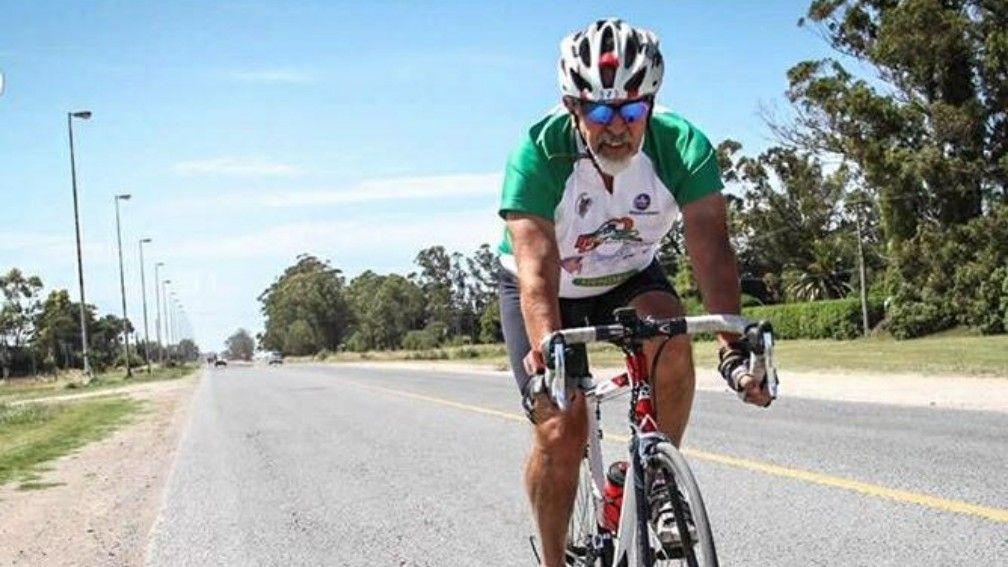 Un Juez unirá Necochea con La Plata en bicicleta a beneficio de un Hospital, y parará en Coronel Vidal