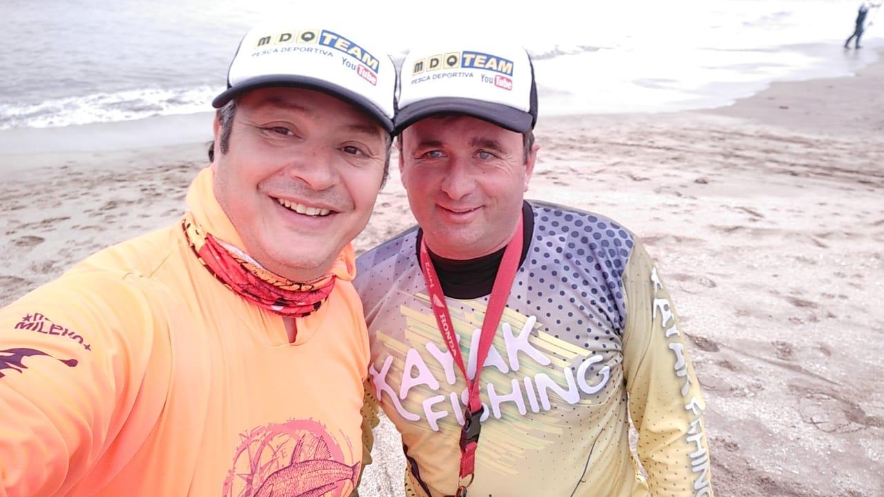 El canal de pesca deportiva MDQ Team, al que pertenece también el equipo de 02265, alcanzó los 100 mil suscriptores y lo festejamos sorteando un kayak