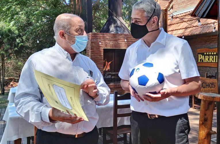 Paredi se reunió en Villa Gesell con Ferraresi y Mar Chiquita adhirió al programa nacional #CasaPropia