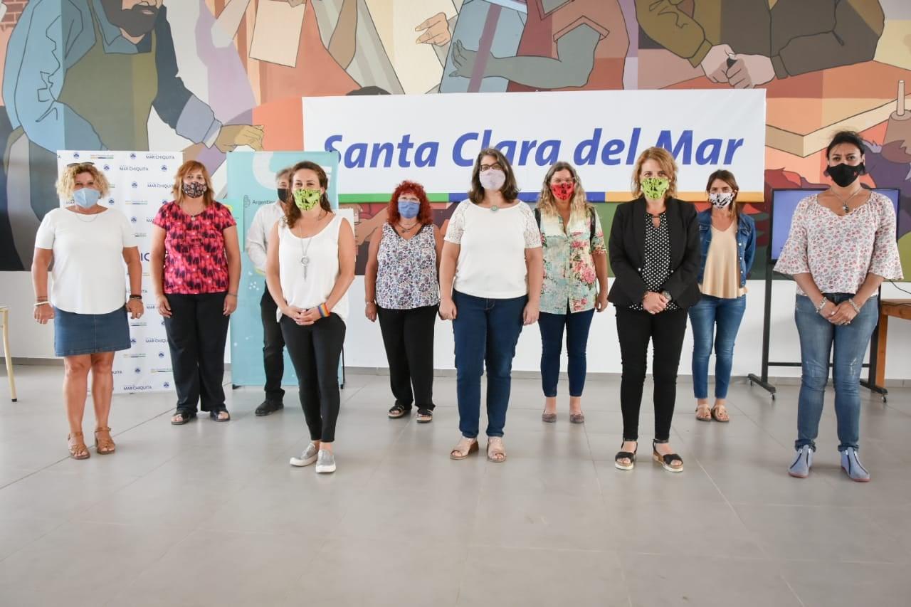 Se presentó la campaña nacional «Argentina Unida Contra las Violencias de Género» en Santa Clara del Mar