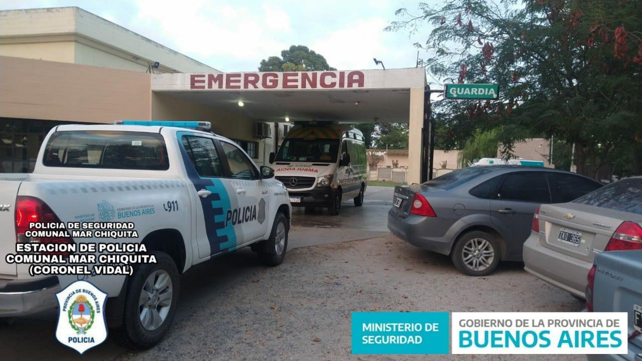 CNEL VIDAL: Un joven irrumpió agresivamente en la guardia del hospital provocando roturas
